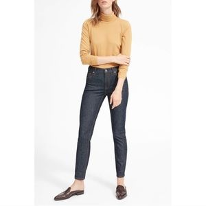 NWT Everlane Indigo Mid Rise Skinny Jeans